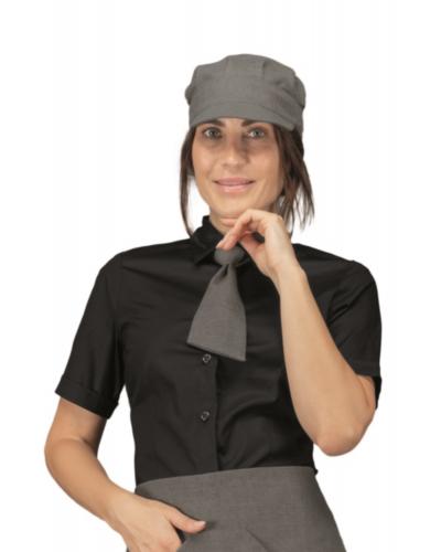 Cravattino Unisex da Cameriere Smoke Grigio Isacco
