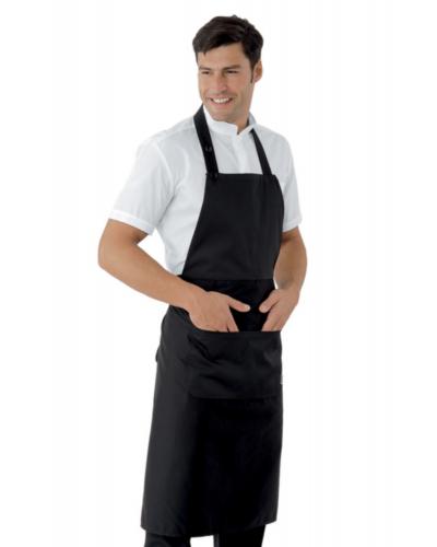 Grembiule Cameriere Daytona Nero 95x95 cm Isacco