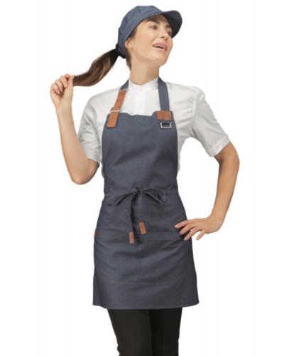 Grembiule Cameriere Kansas Blu Jeans Corto Isacco
