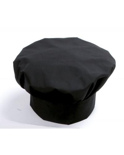Cappello Cuoco Toque Nero Regolabile Giblor's