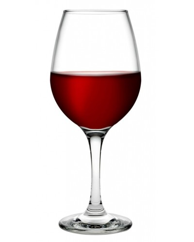 Set 6 Calici Vino Rosso Amber 46 cl Pasabache