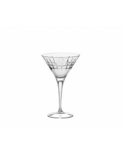 Set 6 Calici Cocktail Ypsilon 24,5 cl Bormioli Rocco Vetro Trasparente