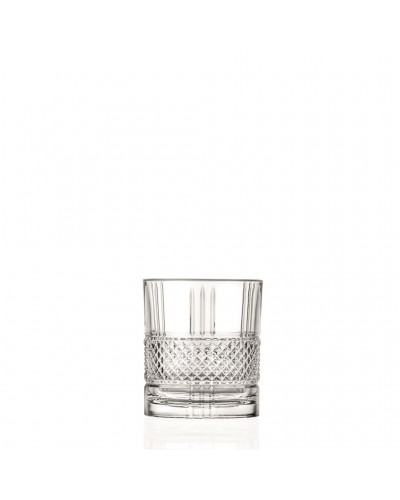 Set 6 Bicchieri Cocktail Brillante 2 Dof 34 cl in Cristallo RCR