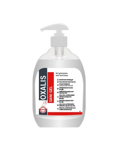 Sapone Gel Igienizzante Mani Oxalis Antibatterico 500 ml Interchem