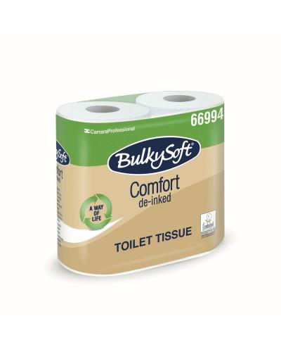 Carta Igienica Comfort Ecolabel BulkySoft® 4 Rotoli 500 Strappi