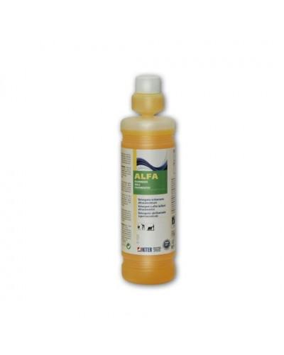 Detergente Lavapavimenti Ultraprofumato Alfa 1lt Marmo e Granito Kiter