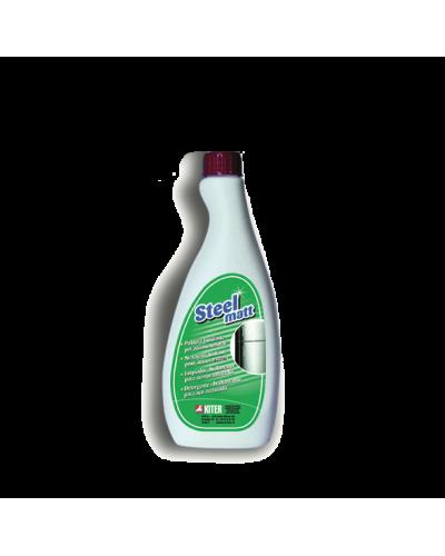 Detergente Pulitore Protettivo Acciaio Inox Steelmatt 750 ml Kiter