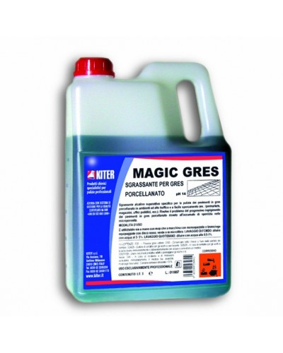Detergente Sgrassante Pavimenti Microporosi Magic Gres 3 lt Kiter