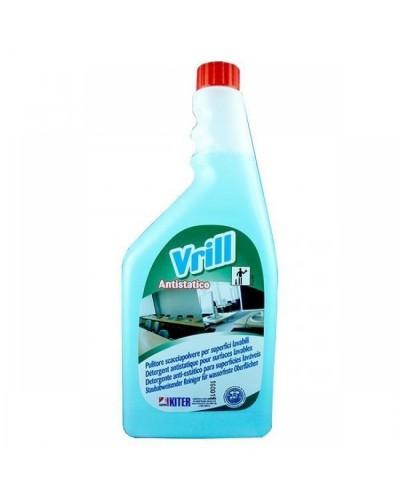 Detergente Pulitore Antistatico Vetri e Multiuso Vrill 750 ml Kiter