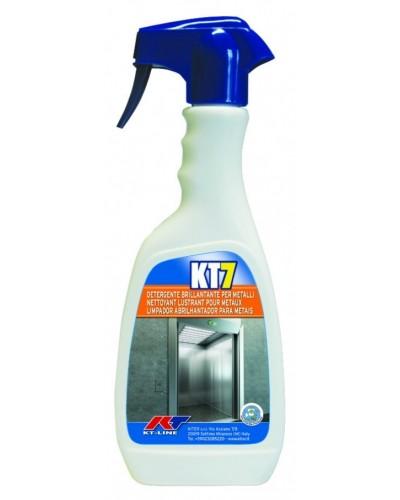 Detergente Brillantante Acciaio e Alluminio KT7 500 ml Kiter