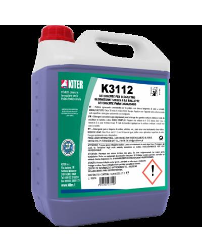Detergente Brillantante Vetri e Vetrate K 3112 5 lt Kiter