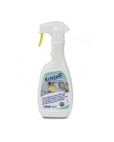 Deodorante Tessuti Kristall Pure 500 ml Fiori e Sandalo Kiter