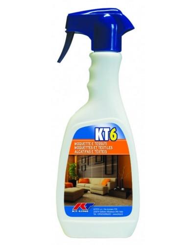 Smacchiatore Igienizzante Tessuti e Moquettes Kt 6 500 ml Kiter