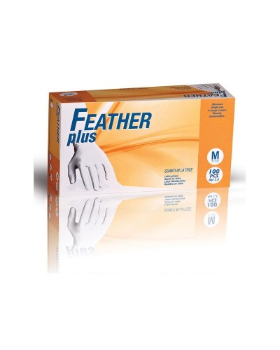 Guanti Lattice Monouso Feather Plus Con Polvere 100 pz Reflexx