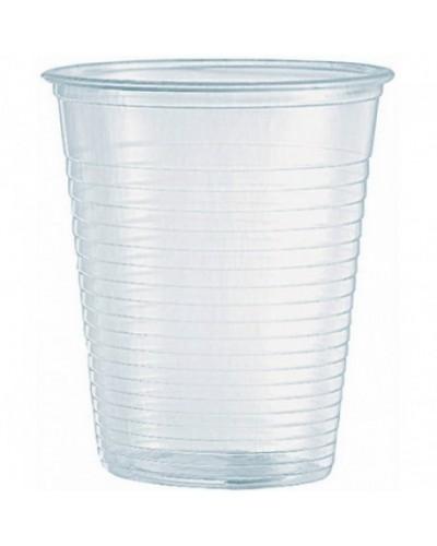 Bicchiere Plastica Trasparente Monouso 166cc 100 pz