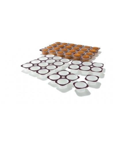Kit di 10 Teglie in Cartone Bianco per 12 Muffin da 5x3,6 cm Ica