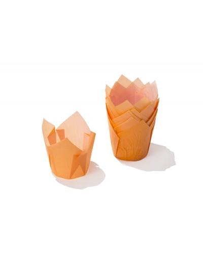 Pirottini Muffin Tulip in Carta Forno Turchesi 5x5x7,2 cm 120 pz Ica