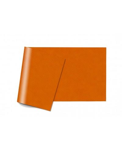 Tovaglie Carta Monouso Arancioni 100x100 cm Piegate a 8 150 pz Infibra
