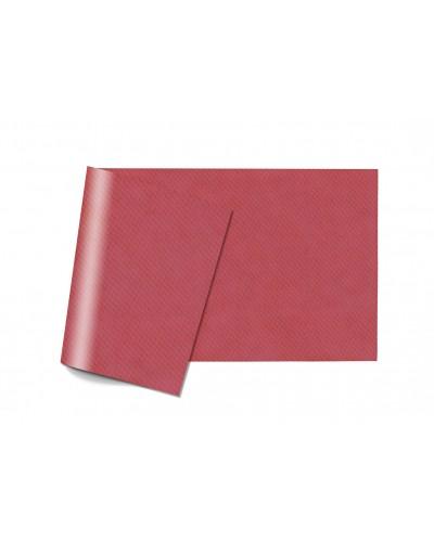 Tovaglie Carta Monouso Bordeaux 100x100 cm Piegate a 8 150 pz Infibra