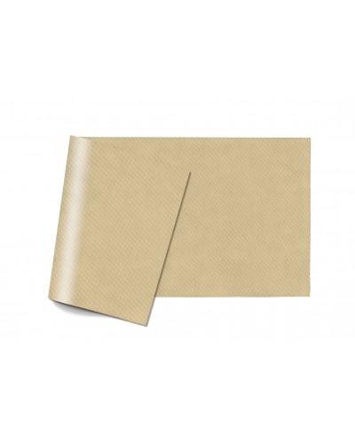Tovaglie Carta Monouso Crema 100x100 cm Piegate a 8 150 pz Infibra