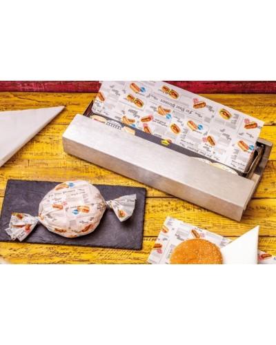 Carta Alimentare Antigrasso Wrap Papier 25x36 cm 550 pz Infibra