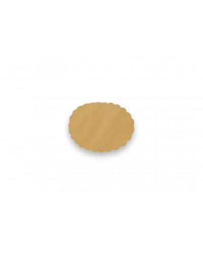 Sottofritti Carta Paglia Ovali 19x31 cm