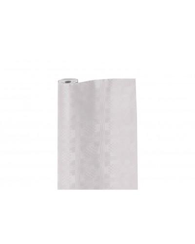 Tovaglia A Rotolo Bianca Dama Monouso 50 mt H. 120 cm 7 pz Infibra