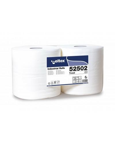Coppia Rotolone Industriale Trend 800 strappi 2 Veli Celtex