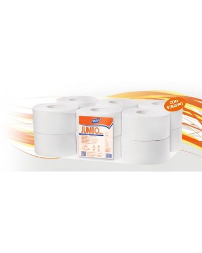 Carta Igienica Jumbo Mini 12 rt Pura Ovatta Paper Wall RealCarta