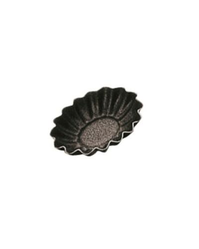 Set 6 Tartellette Antiaderenti Tonde per Crostatine 4,5 cm Paderno