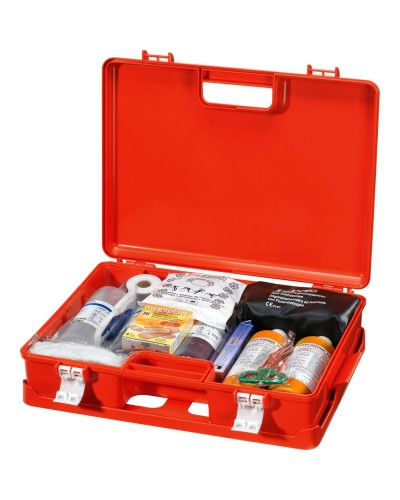 Cassetta Medica Primo Soccorso 3p+ All. 1 Con sfigmomanometro Neri