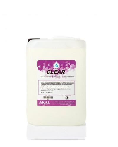 Detergente Chiarificante per Acque da Piscina Clear da 12 kg Aral
