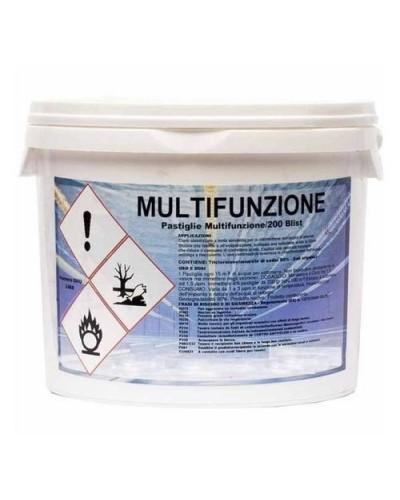 Pastiglie Cloro Manutenzione Piscine Multifunzione Tricloro 5 kg Aral
