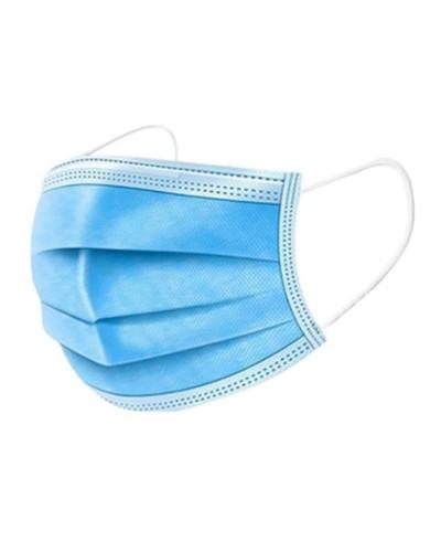 Mascherine Chirurgiche Protettive Monouso Azzurre 50 pz CE EN14683