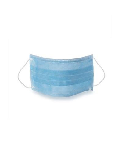 Mascherina Facciale Protettiva Blu Monouso
