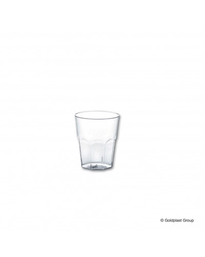 Bicchiere Cicchetto Trasparente 25cc - Goldplast