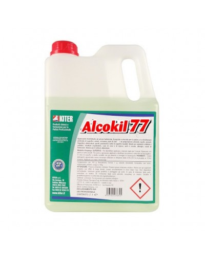 Igienizzante Alcolico Alcokill77 5 lt Kiter