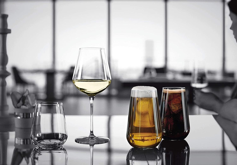 Détails sur Set 6 Verres à Vin Retour au Début Un Grandes 56 CL Bormioli Rocco Restaurant