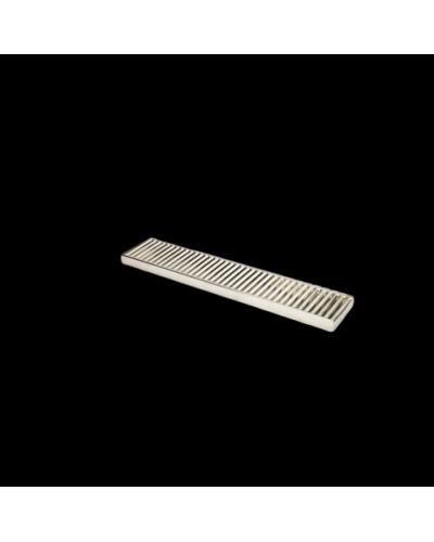 Tappetino Bar Acciaio Drip Tray 50x10 cm BIP