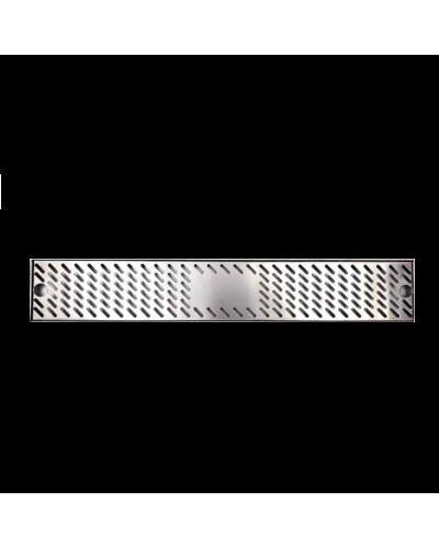 Tappetino Bar Acciaio Drip Tray Lux 60x10 cm