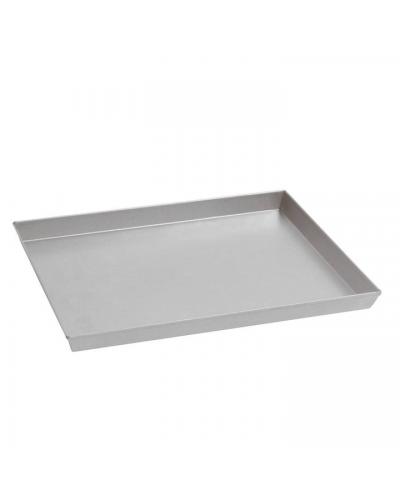 Teglia Pizza Rettangolare Alluminio 50x35x3 cm Sambonet Paderno