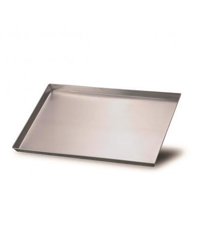 Teglia Pizza Alluminio Rettangolare 65x45 cm Fasa