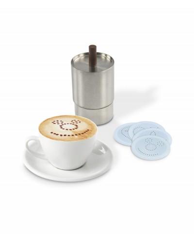 Decospargi Cacao per Cappuccini con 4 Dischi Acciaio Inox 18/10 Ilsa