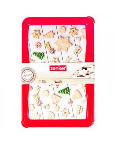 Box 18 Tagliabiscotti 'christmas' Natale Zenker