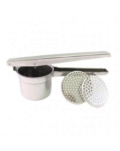 Schiacciapatate 2 Dischi Inox 8,5 Cm Calder