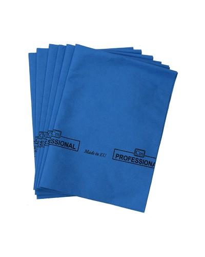 Panno Vetri Microfibra Blu 4 pz Casamia