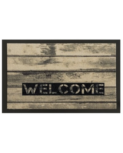 Tappeto Mat Design Wood Welcome 60x80