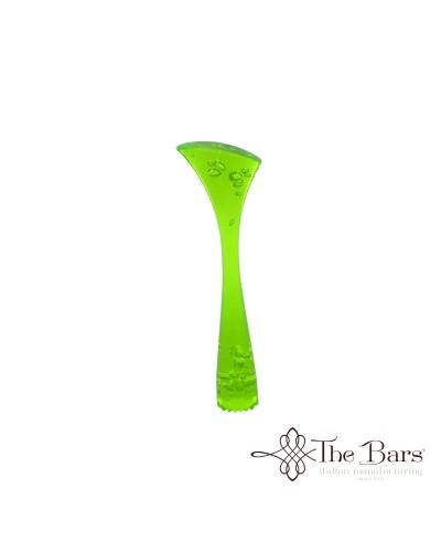 Pestello Zigrinato Verde Fluo The Bars