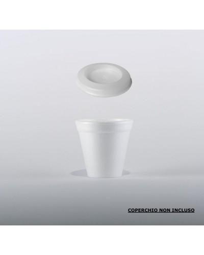 Bicchiere Termico per Caffè 80cc 100pz in Polistirolo Erremme