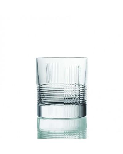 Set 2 Bicchieri Quadri 29 cl Da Vinci Prestige